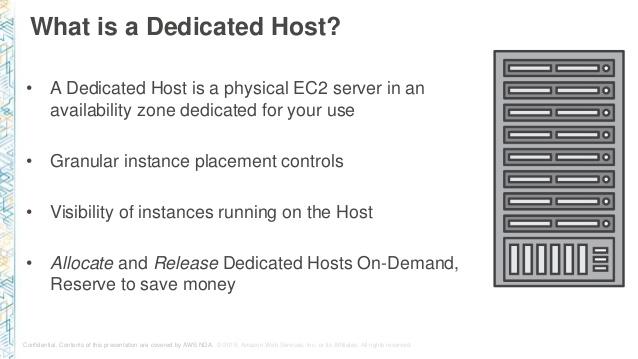 AWS Dedicate Host