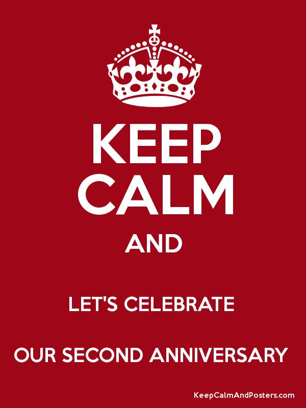 second anniversary